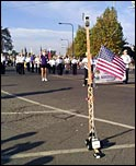 Boy Scout Capital March in Sacramento CA